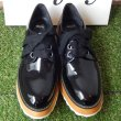 画像3: durbuy - 3 HALL EYELET SHOES WIDE SHOE LACE LOW [WOMAN / PATENT BLACK / SIZE EU38 1 / 2] (3)