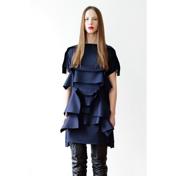 画像1: AGNES NORDENHOLZ -RUFFLE DRESS (1)