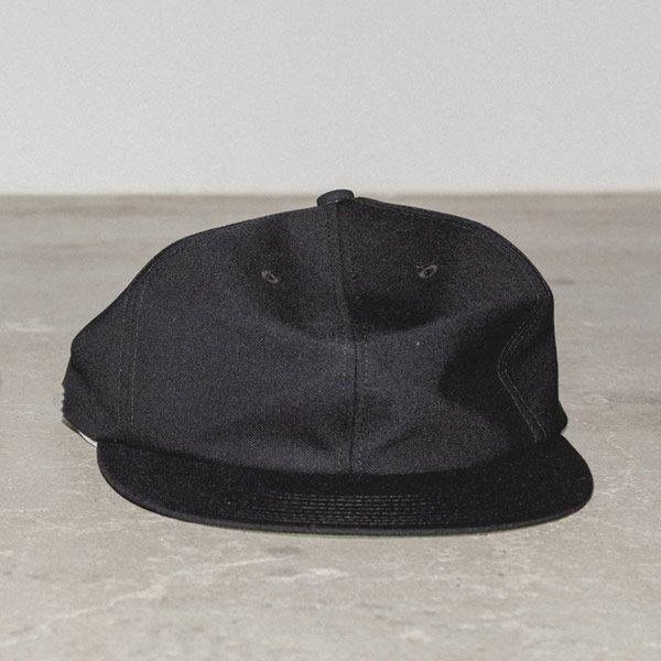 MAISON EUREKA - DADDY'S  CAP / BLACK